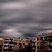 bérházak felett az ég