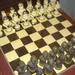 Marcipán sakktábla