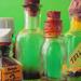 festékes üvegek