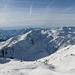 Tiroli Alpok napsütésben