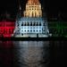 A Parlament díszkivilágítása