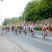Kerékpárosok a 84-es úton