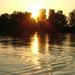 Napnyugta a Tiszán