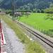 Svájc, Jungfrau Region, Schynige Platte Bahn, itt válik el a fog