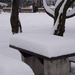 Sakkasztal télen